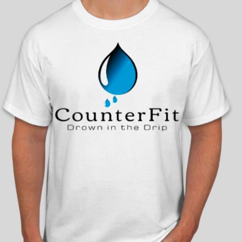 CF Slogan T-Shirt White