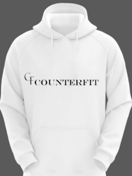 CounterFit Logo Sweatshirt White