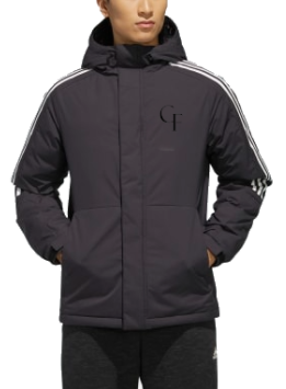 CF Windbreaker Black Logo