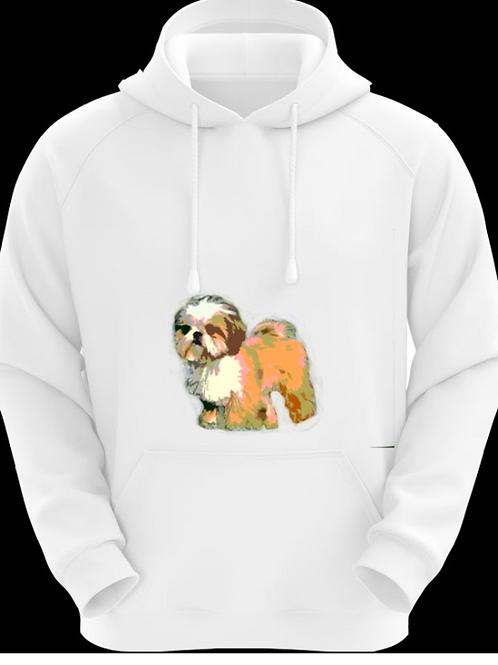 Dog Sweatshirt Brown