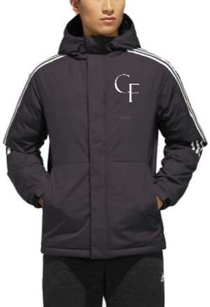 CF Windbreaker White Logo