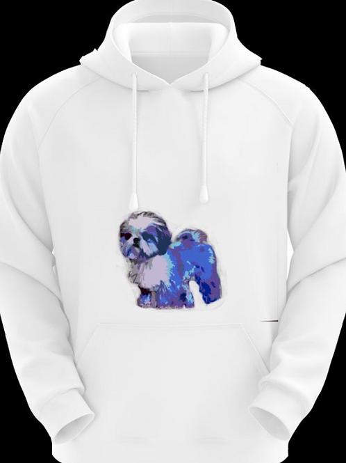 Dog Sweatshirt Blue