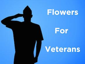 Flowers for Veterans Event