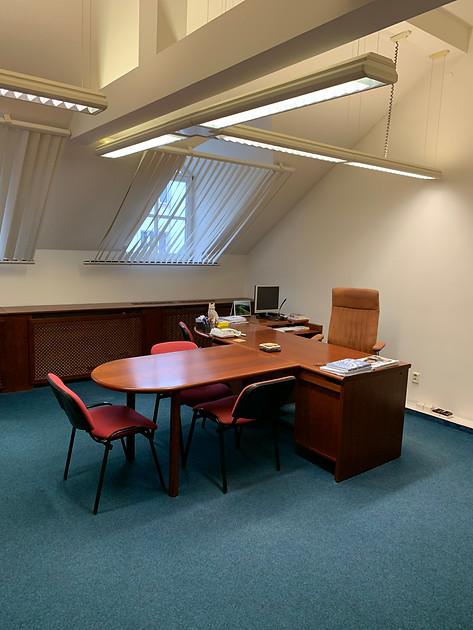 Křišťanova interiér - kanceláře