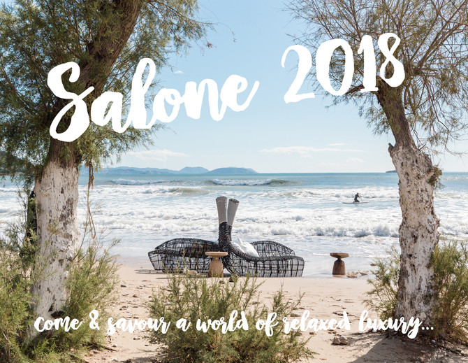 Salone 2018 - join us!