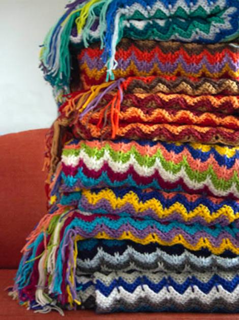 Colorbloom Afghan