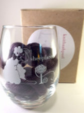 Sheepfaced Wine Glass