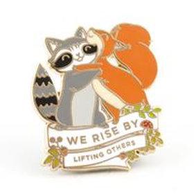 We Rise Pin