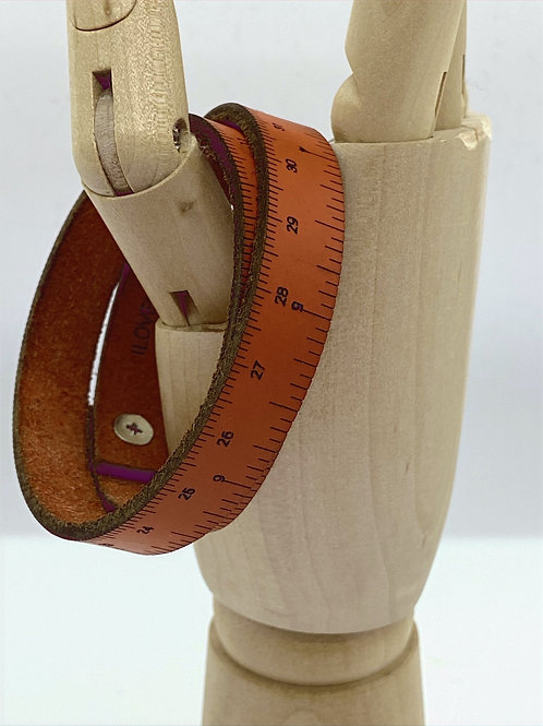 Wrist Ruler Orange