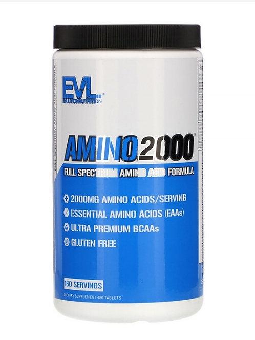 Amino 2000 Aminoácidos Esenciales + BCAA 480 tabletas