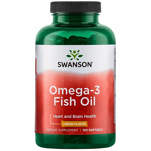 Omega-3 fish oil 1000 mg 150 cápsulas