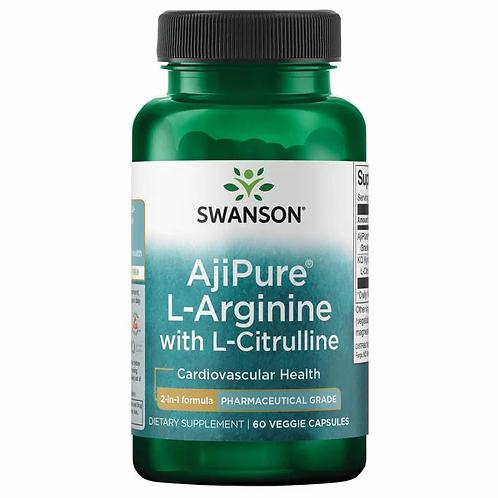 Arginina+Citrulina 60 cápsulas