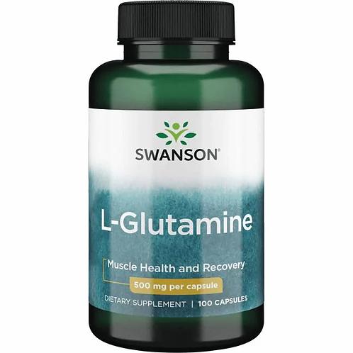 L-Glutamina 500 mg 100 cápsulas