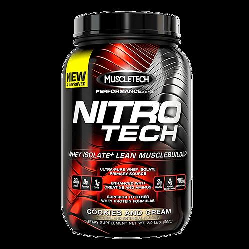 Nitro Tech Proteina 2. 2libras Vainilla