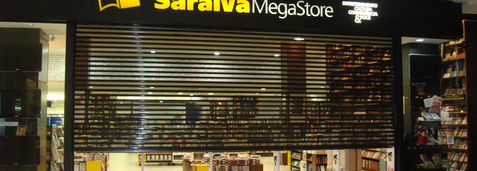 Porta de Enrolar Comercial Shopping