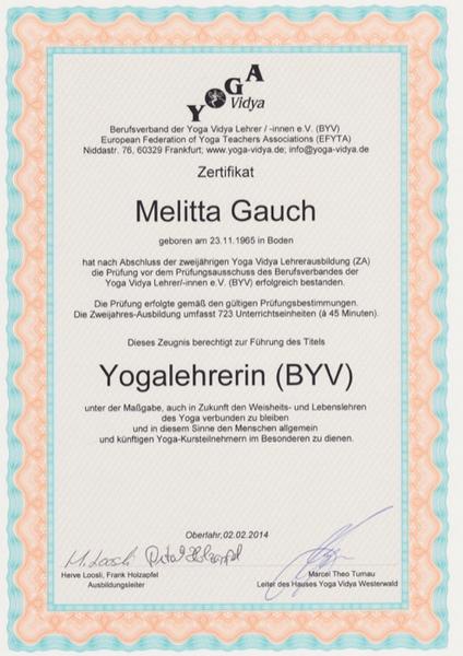 Yogalehrerin (BYV)