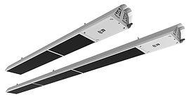 IR Energy EvenTube Slimline series outdoor patio tube heater