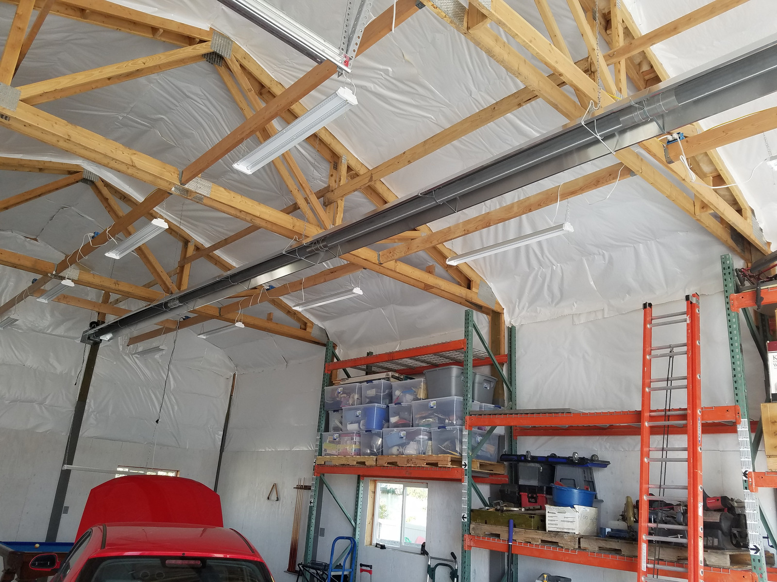 Residential Garage Heaters Utah Superior Tube Heaterscom Radiant Heater Wiring Diagram Infrared In A Detached And Workshop
