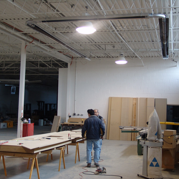 Heating a Woodworking Shop with Infrared