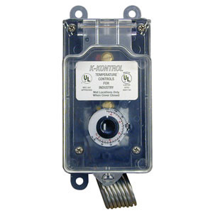 Watertight Thermostat