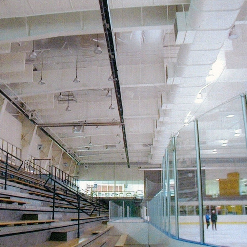Superior Tube System in Ice Arena