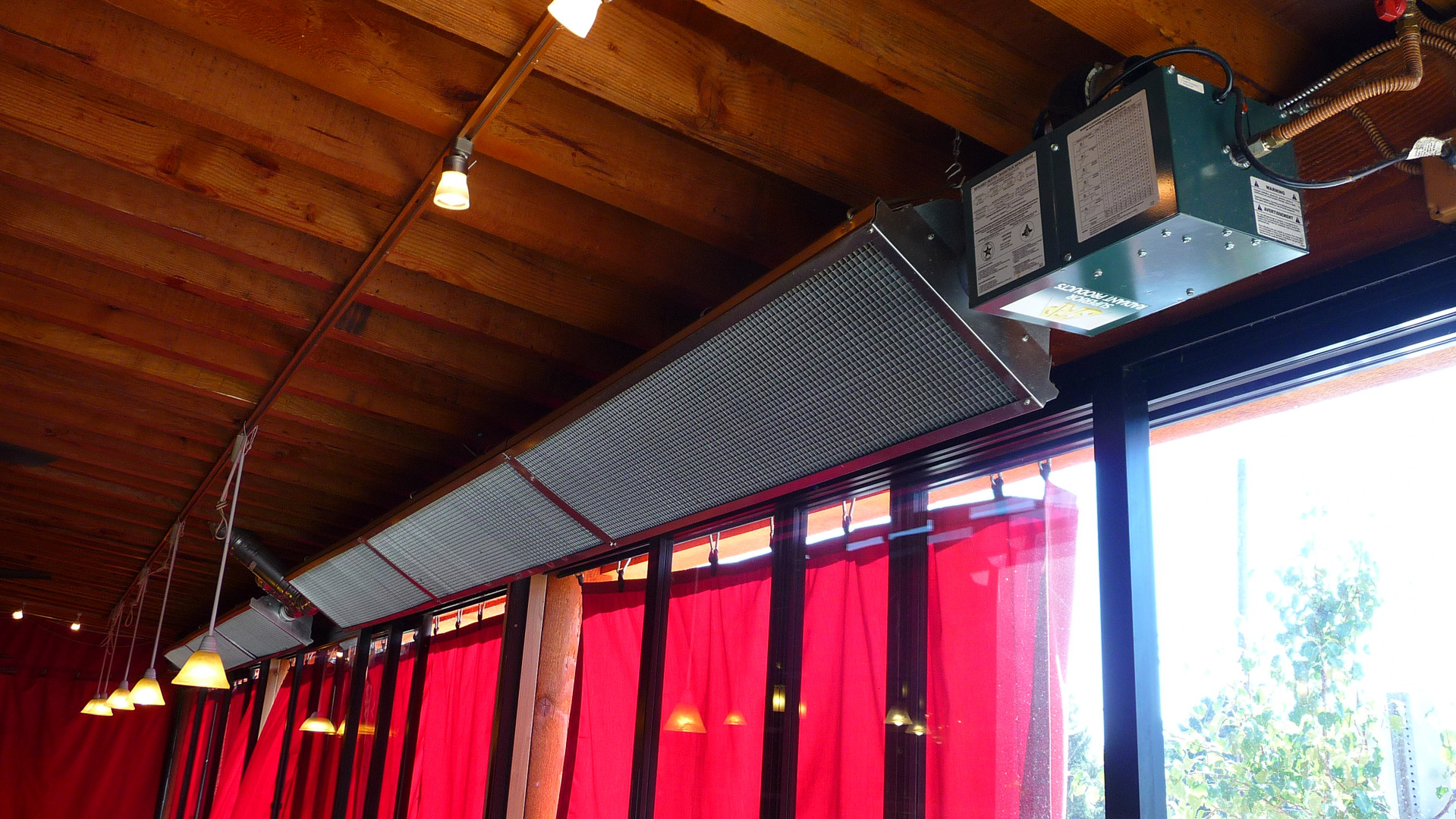 Standard UA Series Tube Heaters with Deco Grill