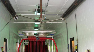Tube Heaters In a Tunnel Wash