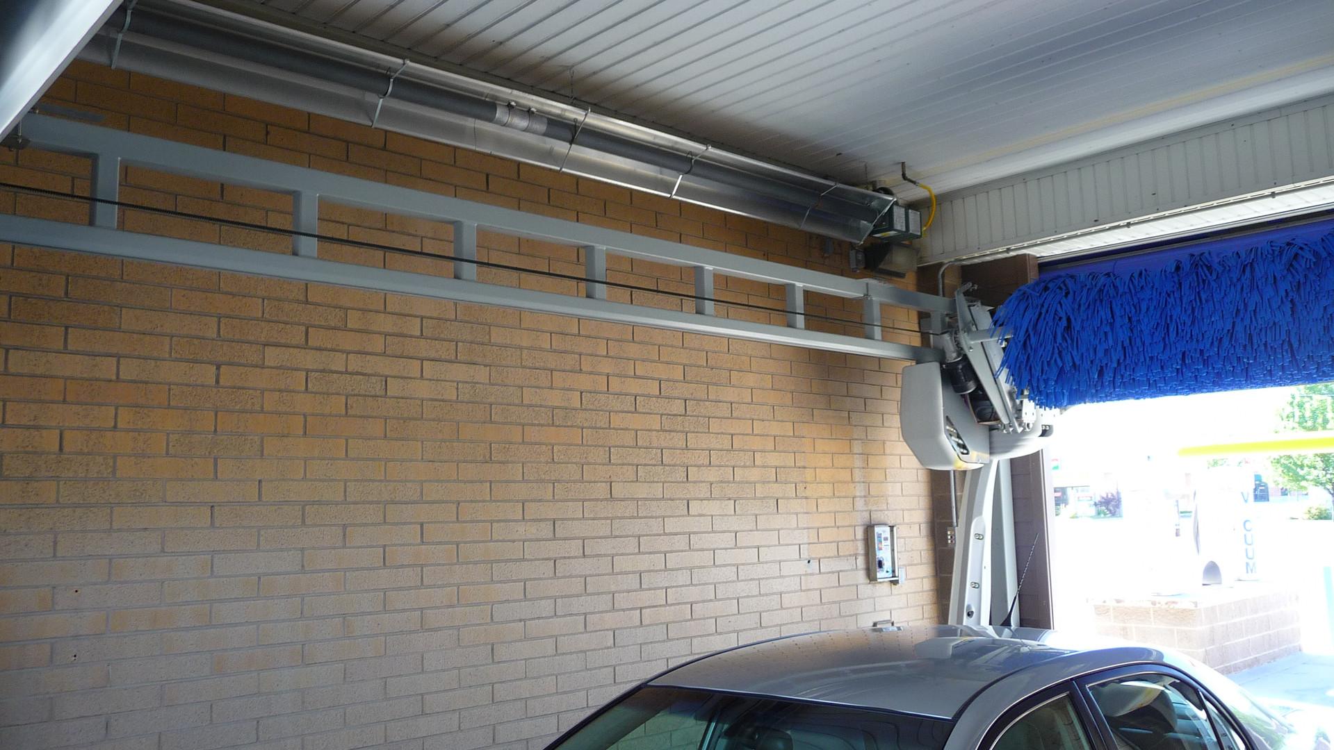 UXR Series Tube Heater In Wash Bay