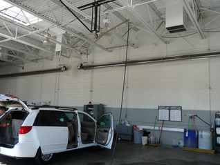 How to Heat an Auto Body Shop