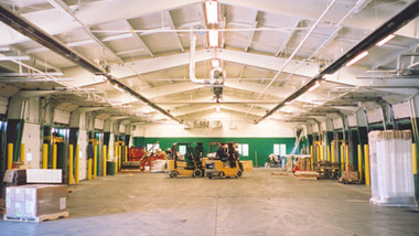 Freight Terminal with Vacuum Infrared System