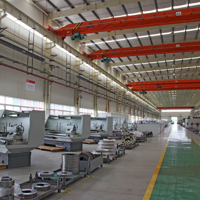 Gas Infrared Tube Heaters In Manufacturing Plant