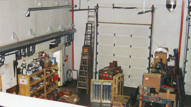 Superior UAG series garage tube heater