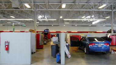 Short Tube Heaters in Auto Mechanics Areas