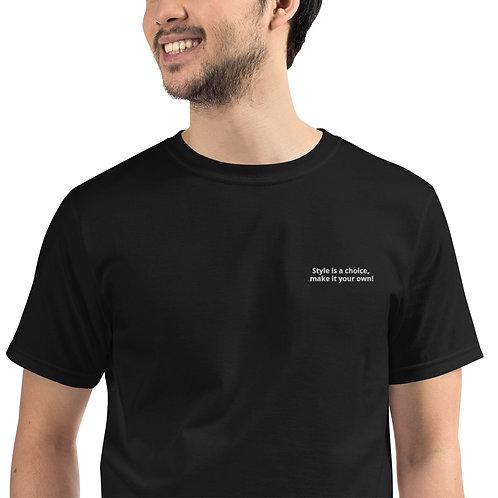 T-shirt Unisexe Justforex slogan