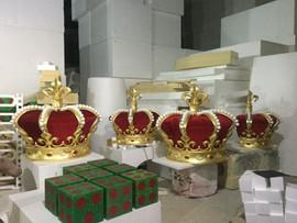 Foam decoration