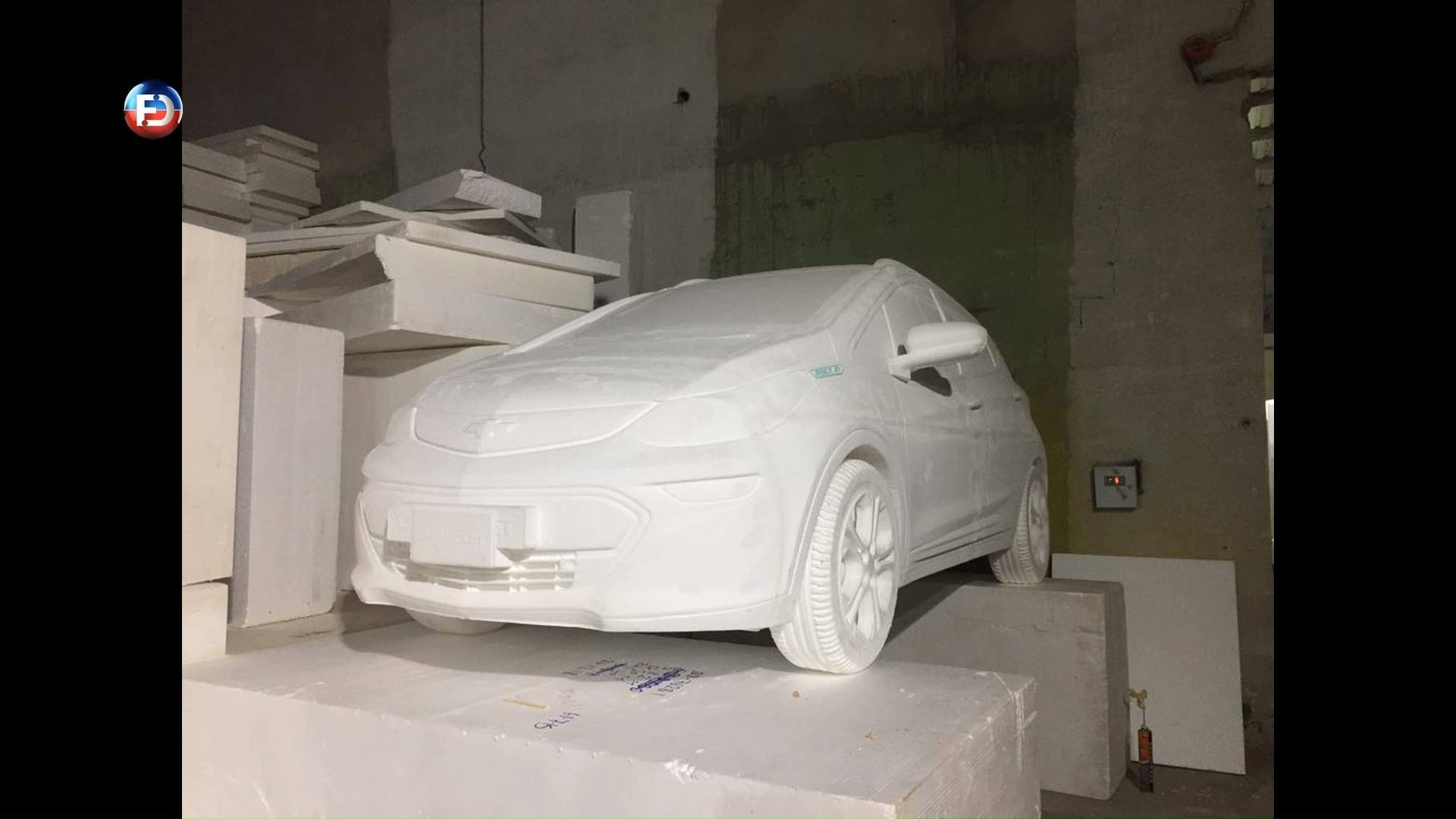 3D CAR MODEL - BOLT 2019 - Outdoor advertising
