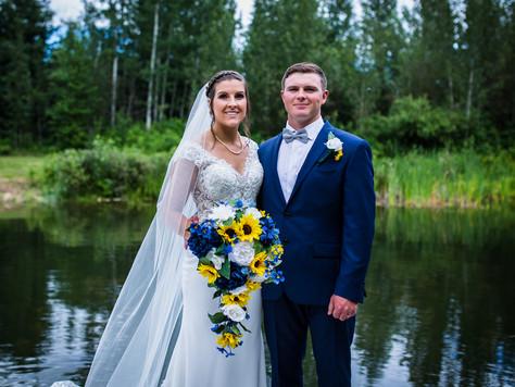 Athabasca Wedding ~ Dana + Zach
