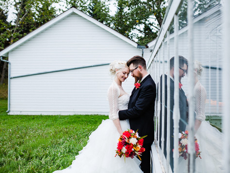 Fort Edmonton Park Wedding ~ Brittany + Nick