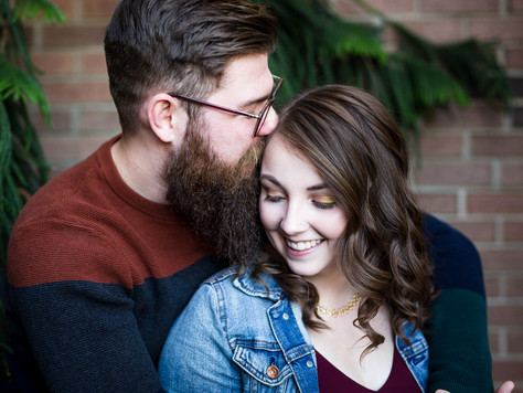 Downtown St. Albert Engagement ~ Katelyn + Adam