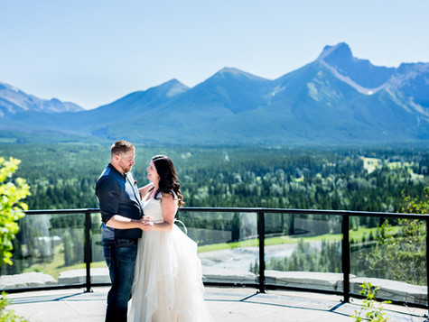 Kananaskis Wedding Photographer ~ 1st Anniversary ~ Sarah + Kadon