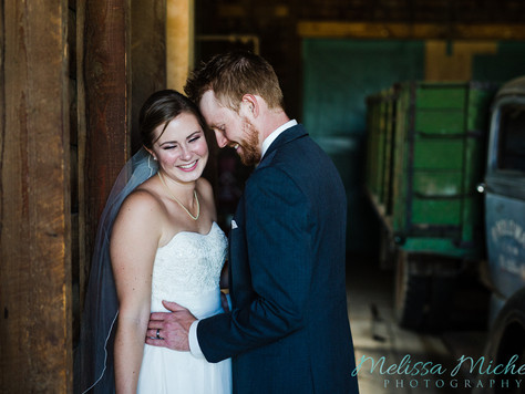 1st Year Anniversary ~ St. Albert Wedding ~ Lauren + Brandon
