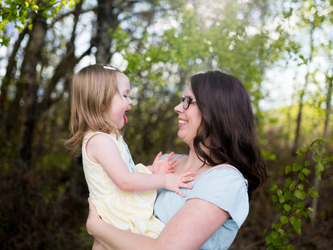 St. Albert Family Photographer ~ Mother's Day with Ashley, Ellie & Tayva