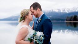 Britt + Logan ~ Montana Winter Wedding
