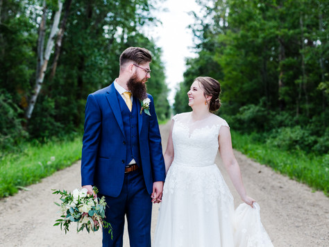 Ponoka Alberta Wedding ~ Katelyn + Adam