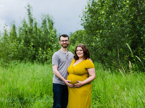St. Albert Maternity - Ashley + Kyle Davidson