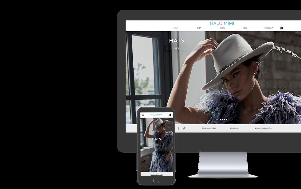 MOBILE & DESKTOP WEB DESIGN