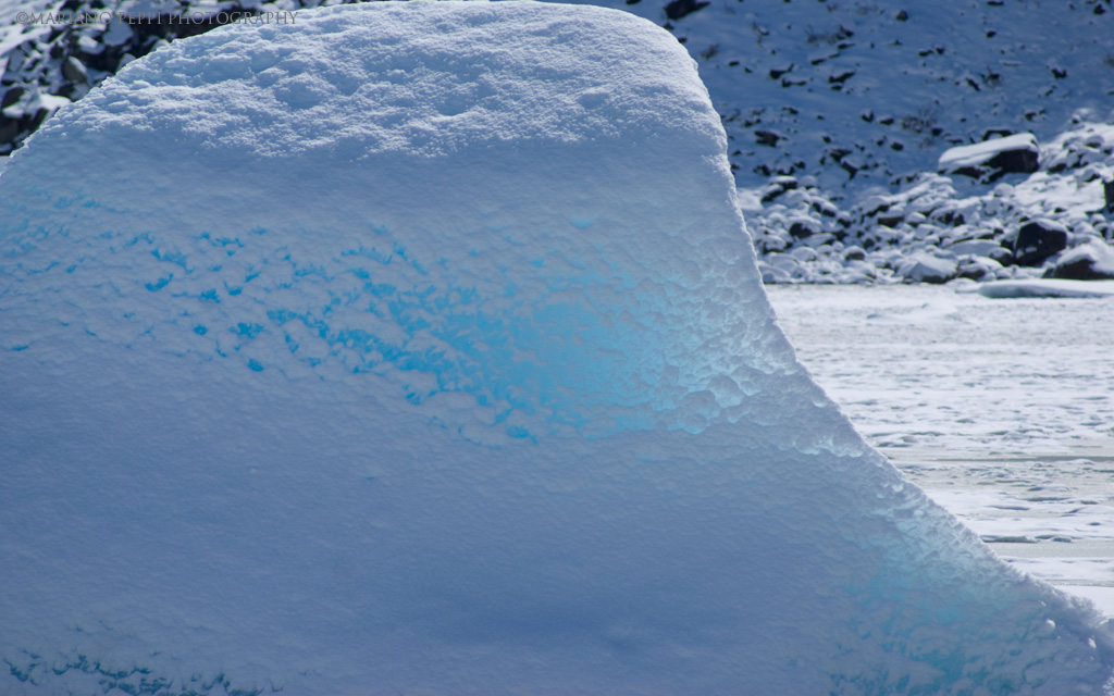 Témpano , Glaciar Nef