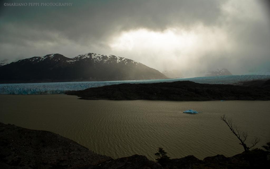 Lago Cachet, Campos de hielo norte