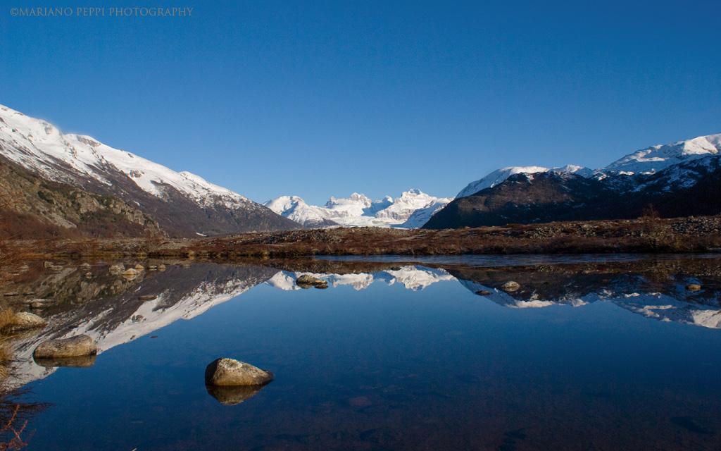 Glaciar Nef,Campos de hielo norte