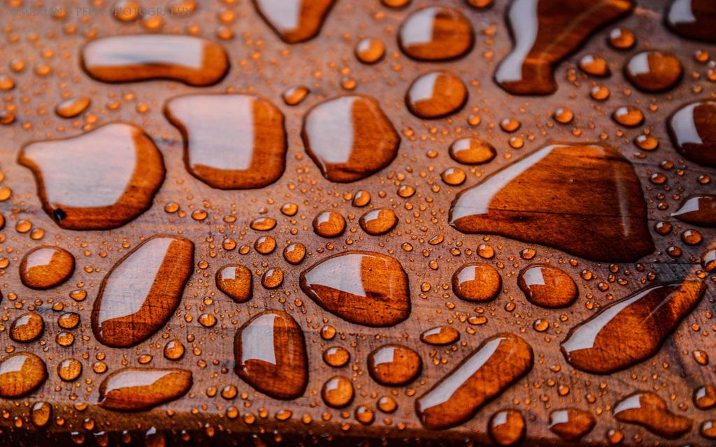 Textura de lluvia